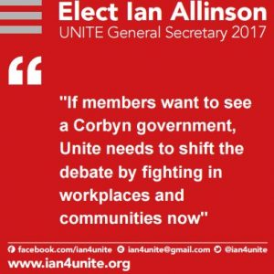 Quote about supporting Corbyn